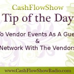 network at vendor events
